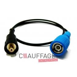 Connecteur electrode de chauffage sovelor val6 et val6/2