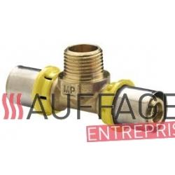 Raccord m/m pour tuyau air et fuel de chauffage sovelor b100/150 ced-ea-eai-edi-cea-ceb