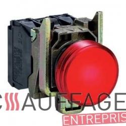 Temoin lumineux rouge de mise en securite de chauffage sovelor val6 et val6/2 am