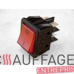 Interrupteur marche-arret de chauffage sovelor val6 ancien modele