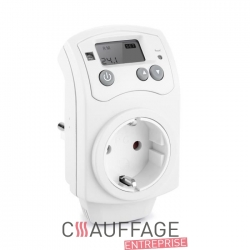 Prise fixe thermostat pour chauffage sovelor ec/ge am type telephone