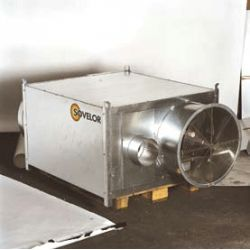 Ventilateur helicoide pour ags 55