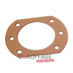 Joint entre carrosserie et plaque fixation bruleur de chauffage sovelor dso65/gip60
