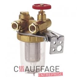 Filtre fuel complet sans raccords de chauffage sovelor val6 et val6/2 et kb1
