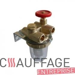 Filtre fuel de chauffage sovelor master b66/bv60 tuyau cuivre