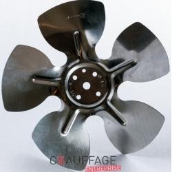 Helice diametre 300-27° pour chauffage sovelor mirage35
