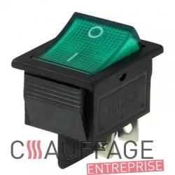 Interrupteur konf. pour chauffage sovelor