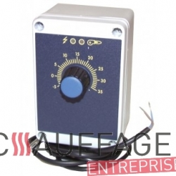 Thermostat d'ambiance integre de chauffage sovelor 15000t VE101365