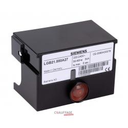 Coffret de controle lgb21-330a27 pour chauffage sovelor gpn120