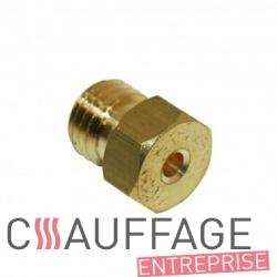 Injecteur gaz naturel g25 2.60 pour chauffage sovelor rl9-rl18/2