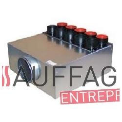 Plenum de soufflage 7 tetes pour chauffage sovelor sf900