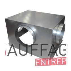 Plenum de soufflage pour sovelor gr28 soufflage direct 3 faces