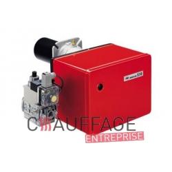 Bruleur gaz riello 40fs10 42/116 kw en 230 v pour chauffage sovelor