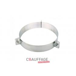 Bride cheminee diametre 150 pour chauffage sovelor jumbo70-80-90 et f-sp