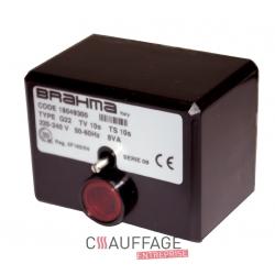 Coffret de controle pour chauffage sovelor ags62 brahma cm31f 10sec +fusible