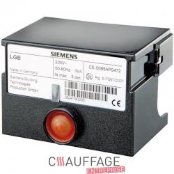 Coffret de controle tgrd92 pour chauffage sovelor ec110