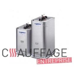 Cuve mobile 1000 l fuel metal double paroi avec rack transport pour chauffage sovelor