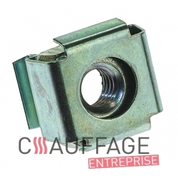 Ecrou cage m5 fixation de capot de chauffage sovelor ec/ge/gp/ga
