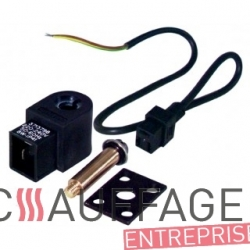 Electrovanne gaz complete pour chauffage sovelor blp46m/a blp69m/a