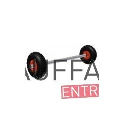 Essieu de roues pour chauffage sovelor ec30/45ce ge40/65ce