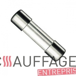 Fusible 6a (6x30) pour chauffage sovelor ec/ge et gp80/90/105a