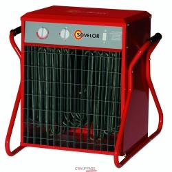 Chauffage air pulse portable electrique 380 v tri puissance reglable 10 - 20 - 30 kw