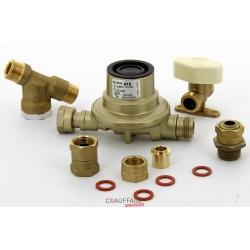Kit gaz propane comprenant 1 detendeur 1.5 bar/37mbar, 1