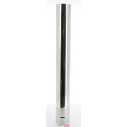 Tuyau droit 1 m diametre 153 simple paroi inox prh de chauffage sovelor