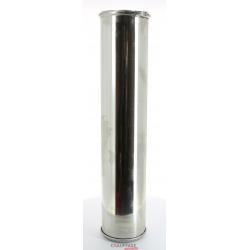 Tuyau droit long.950 mm d.300 double paroi inox inox