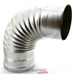 Coude 90° etanche diametre 130 mm pour ags-ags/c-agv 55-75-95