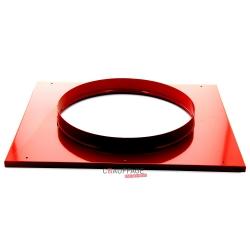 Plenum de raccordement pour gaine circulaire pour sp35/f35 diametre 400 mm male