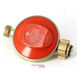 Detendeur gaz naturel 14m3/h 20 mbar / 1a 4 bar - reglage fixe