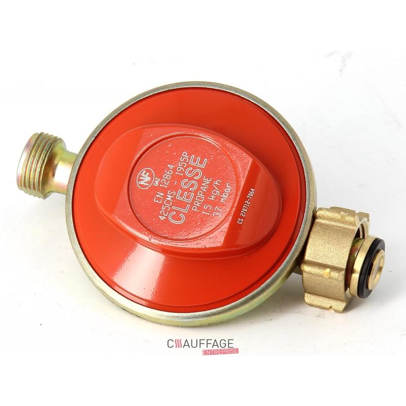 detendeur gaz propane 20 kg h 37 mbar 1 5 bar reglage fixe pour cha