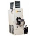Chauffage air pulse polycombustible