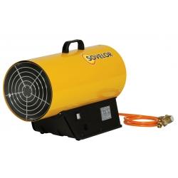Chauffage air pulse gaz propane puissance reglable de 18 a 33 kw