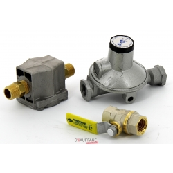 Kit gaz naturel 300 mbar comprenant 1 detendeur 300/20 sovelor